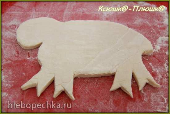 Пасхальная овечка «Ленивая»