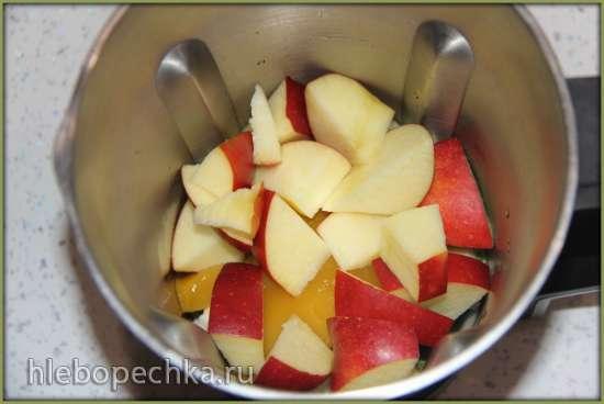Смузи «Мятное яблоко» (блендер–суповарка Vitek VT-2620)