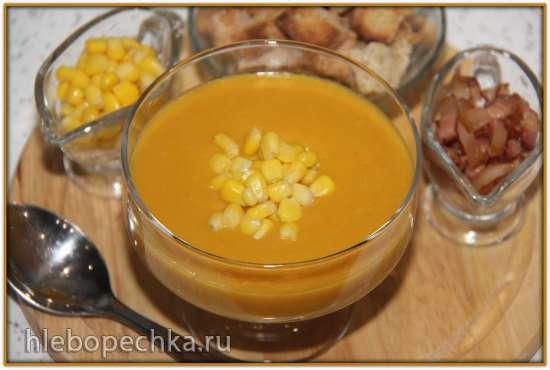 Кукурузный суп–пюре (блендер–суповарка Vitek VT-2620)