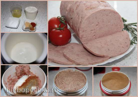 как приготовить куриную сливочную колбасу
