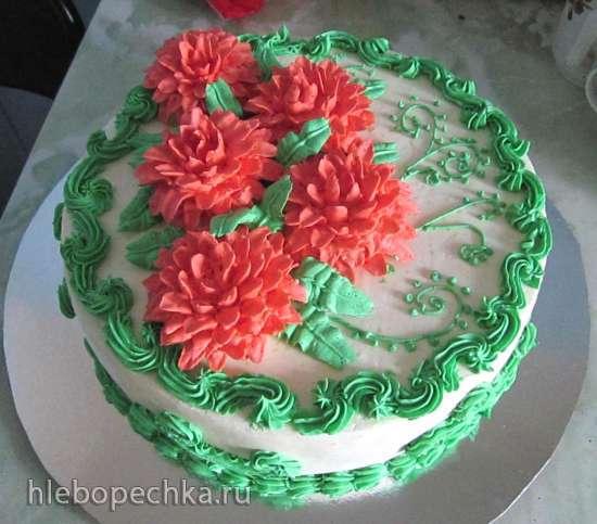 Крем для отделки торта с фото
