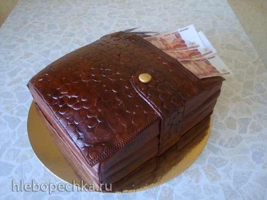 Торты, украшенные мастикой и марципаном (8)