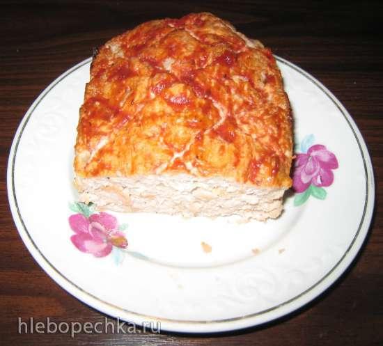 Fleischkause - Баварский мясной хлеб
