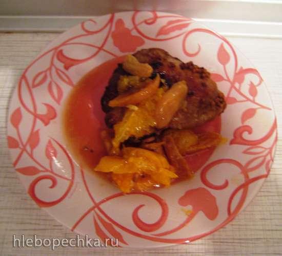 Утка-мандаринка (по мотивам блюда из сети Чайхона)