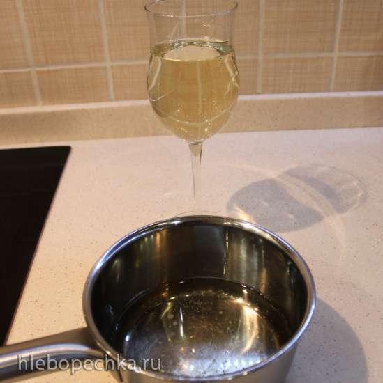 Торт Черника в шампанском