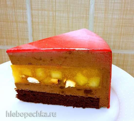 Торт «Тропический микс»