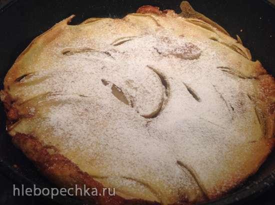 Яблочный панкейк «Датч Бэби»