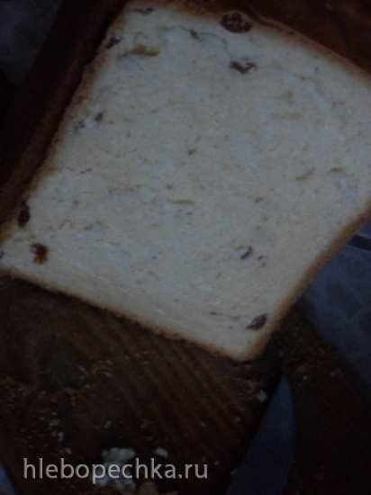 Panasonic SD-2502. Хлеб сливочный с изюмом