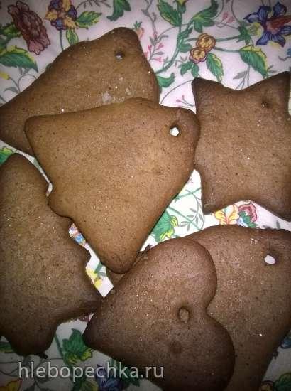 Имбирное печенье (без яиц)