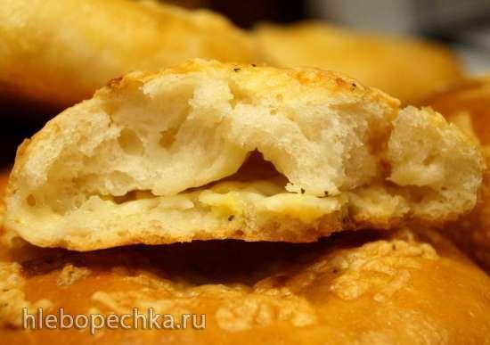 Менгрельские хачапури с сыром и хачапури Кубдари с мясом