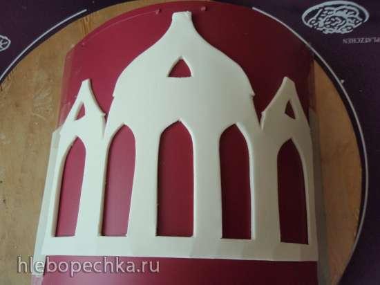 Задняя стенка для торта (мастер-класс)