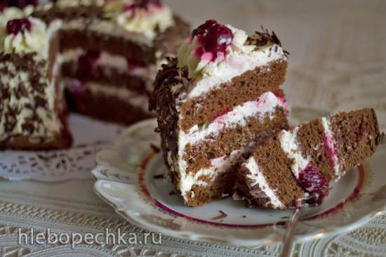 Торт «Черный лес» (Schwarzwalder Kirschtorte)