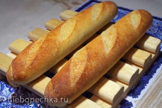 Классический Французский Хлеб (Classic French Bread) Peter Reinhart