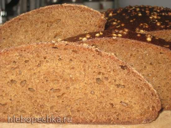 Бородинский хлеб 1939 года (подовый вариант)