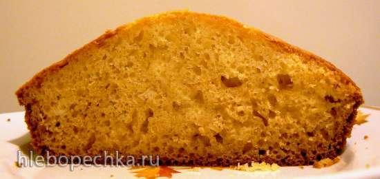 Нежный сметанный кекс