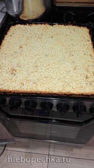 Быстрые пирожки из сладкого творожного теста (духовка)