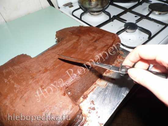 Торт Единичка с зайчиком и пинетками (мастер-класс)