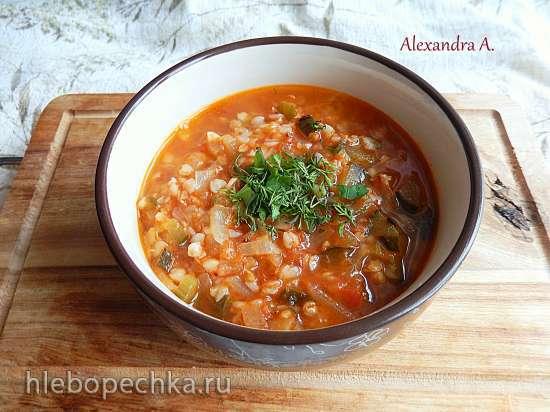 Литовский томатный суп