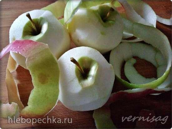 Пирожки бездрожжевые с яблоками