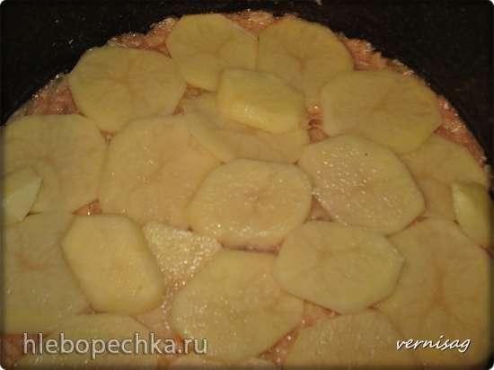 Картофельная запеканка  в Cuckoo 1051