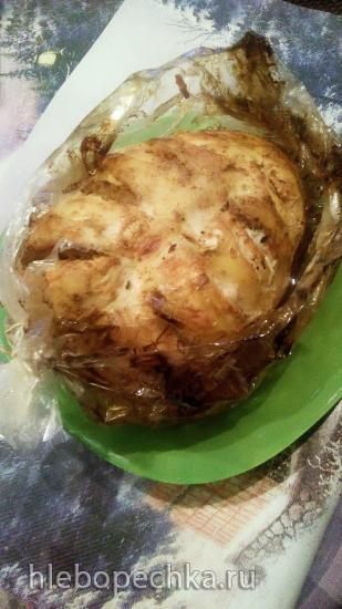 Запеченая куриная грудка ленивая