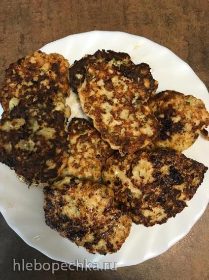 Котлетки по-албански из куриной грудки