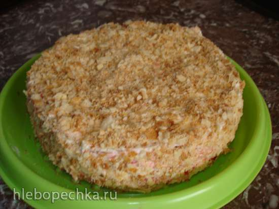 Торт Наполеон (по семейному рецепту)