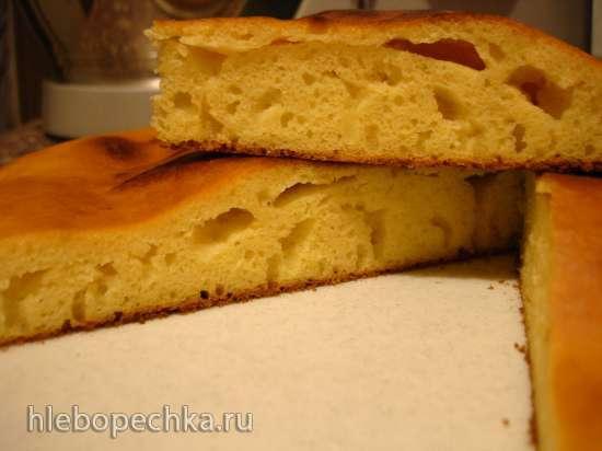 Кукурузная лепешка по-боснийски (пиццамейкер Princess 115000)