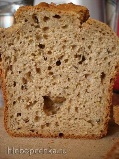 Чисто ржанной содовый хлеб