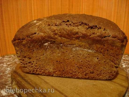 Ржано-пшеничный хлеб без замеса