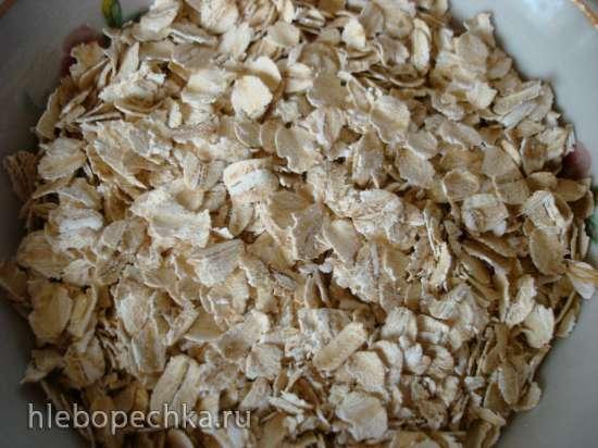 Кекс с овсяными хлопьями и ягодами (кексница GFW-025)