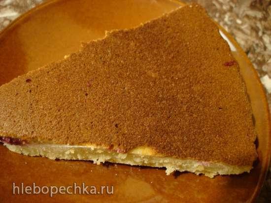 Вишневый пирог в пиццамейкере Princess 115001