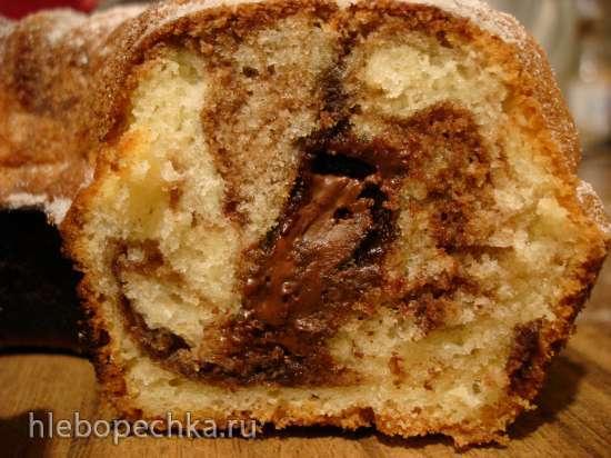Мраморный кекс (кексница GFW-025)