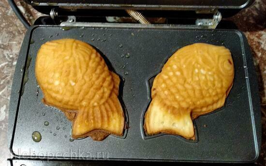 Кекс-рыбка в мультипекаре Redmond серии 6**