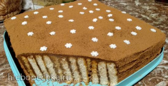 Торт Сладкий кирпичик от синьоры Бенедетты