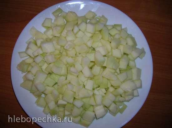 Сладкий перец, фаршированный овощами (Poivrons farcis aux courgettes)