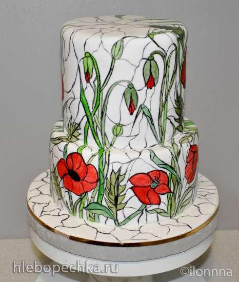 Торты, украшенные мастикой и марципаном (11)