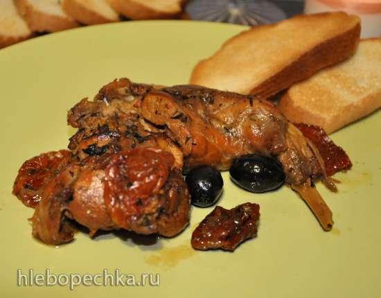 Кролик по-искитански (Coniglio all'ischitana)