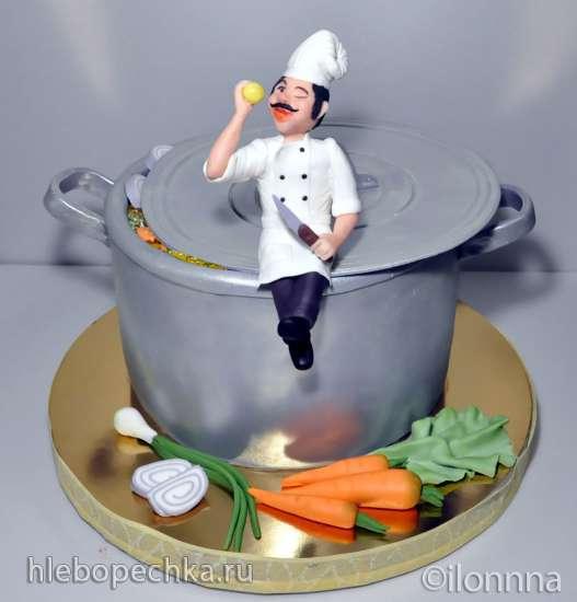 Посуда, еда (торты)