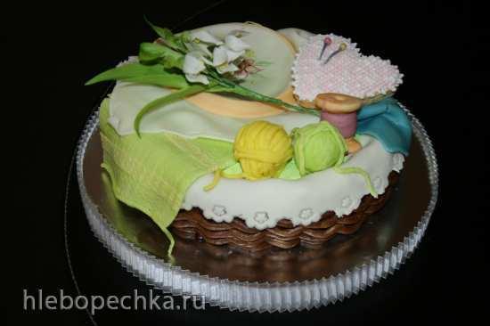 Корзины и плетенки (торты)