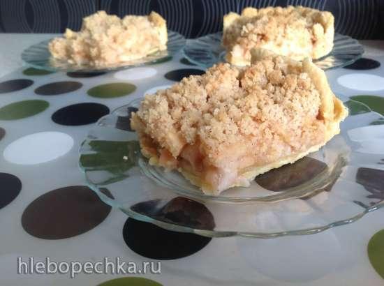 Американский яблочный пирог по-японски