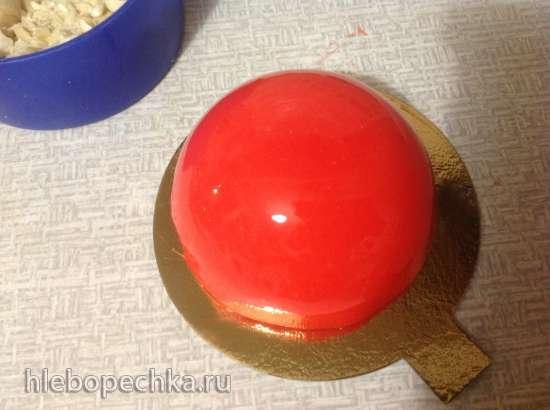 Пирожные муссовые Красная шапочка
