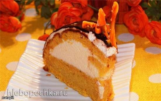 Торт Любовь-морковь