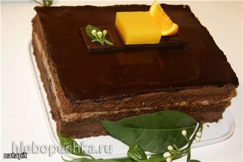 Торт Захер Orange