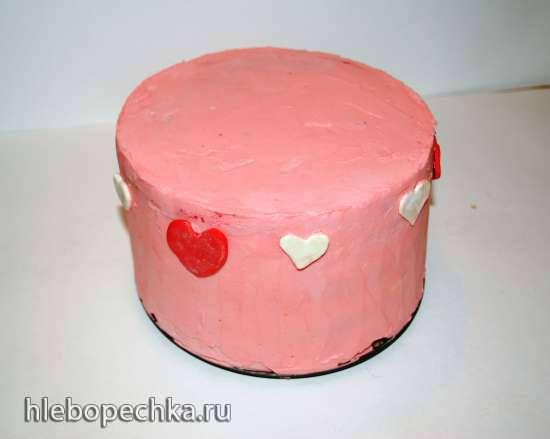 Торт «Улыбка» (лимонно-ягодный)