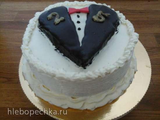 шейка оформить торт на 25лет парню Англии!БАТЭ (Борисов, Беларусь)