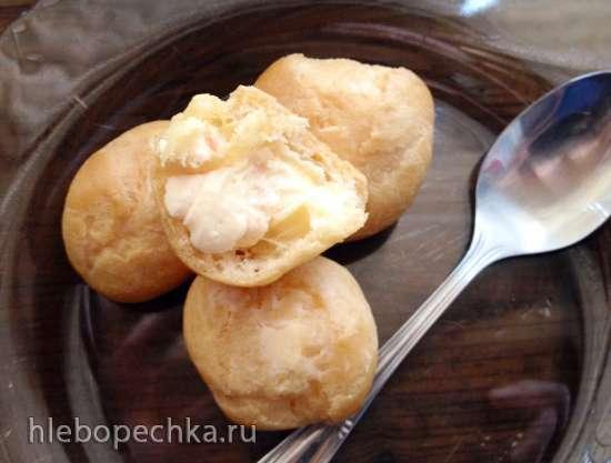 Заварнушки с грейпфрутовым кремом