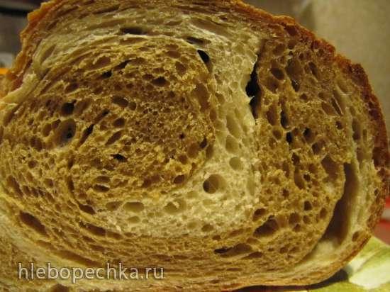 Хлеб Два пива на закваске