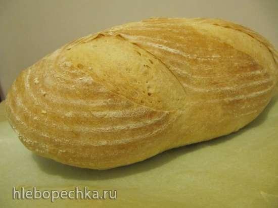 Коммунальный хлеб на закваске (Pane Comune con Lievito Madre)