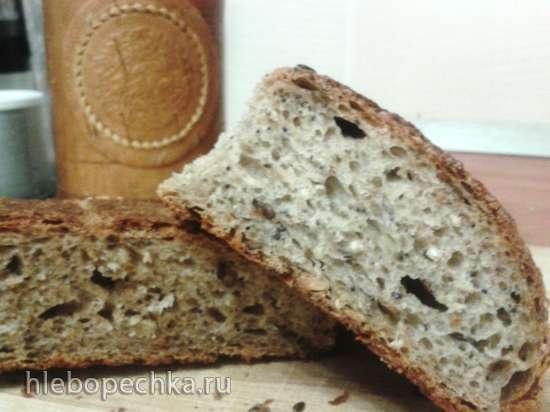 Зерновой хлеб с чечевицей